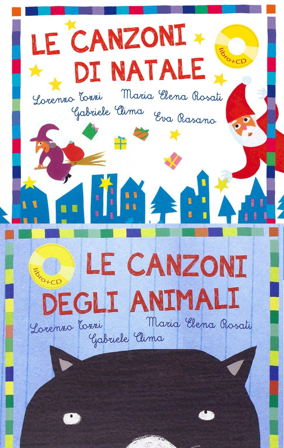 Un Libro In Cartella Le Canzoni Di Natale Teste Fiorite Libri