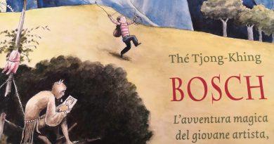 Bosch. L'avventura magica del giovane artista, il berretto, lo zaino e la palla…