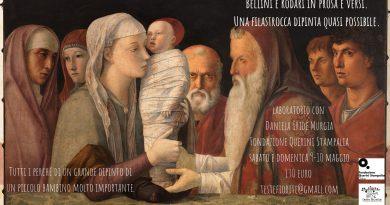 Bellini e Rodari in prosa e versi. Una filastrocca dipinta quasi possibile.